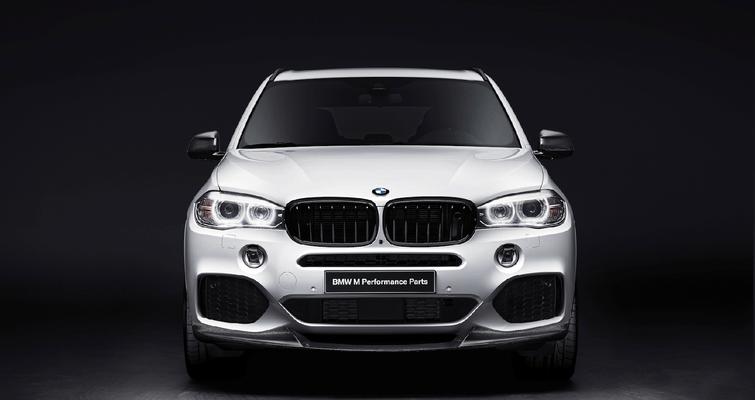 Карбоновый спойлер переднего бампера  для BMW X5 F15
