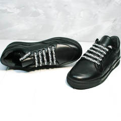 Модные женские кеды Rifelini by Rovigo 121-1 All Black