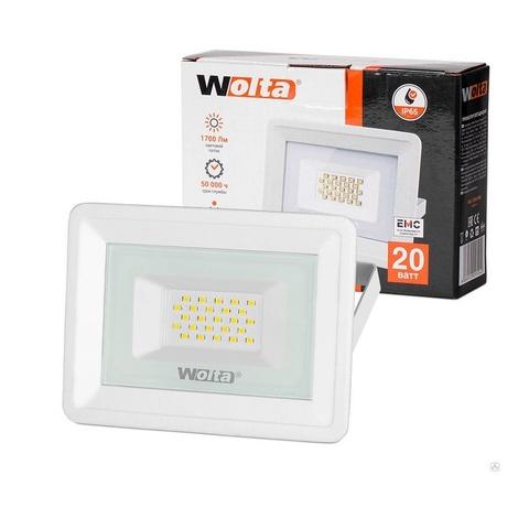 Прожектор светодиодный WOLTA WFL-20W/06W 5500K 20W IP65