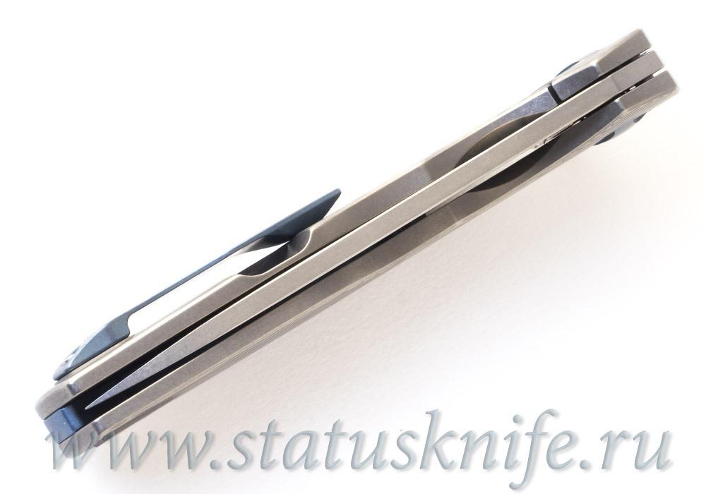 Нож CKF S.S.E.  (М390, титан, подшипники) - фотография
