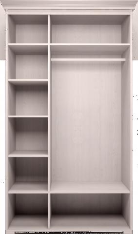 Шкаф трехстворчатый Афродита для платья и белья без зеркала Арника белый