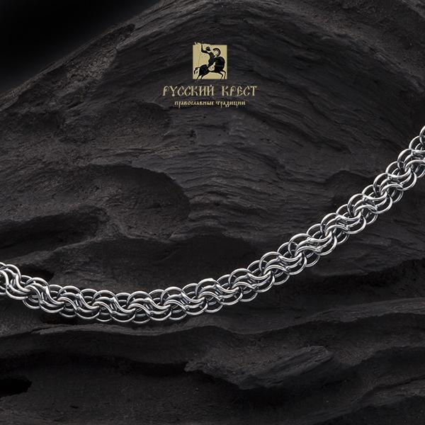 купить цепочку серебро мужскую на шею Сармат