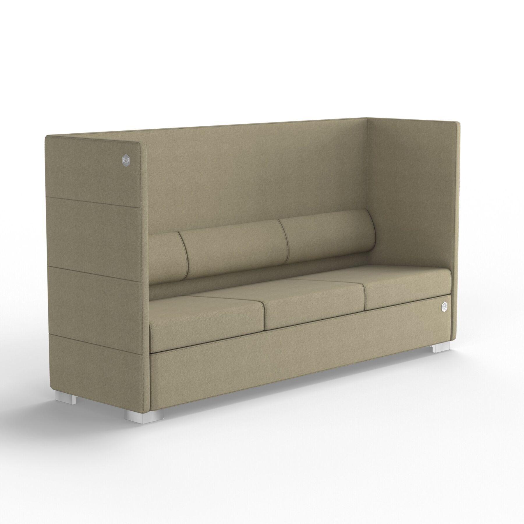 Трехместный диван KULIK SYSTEM PRIVATE Ткань 3