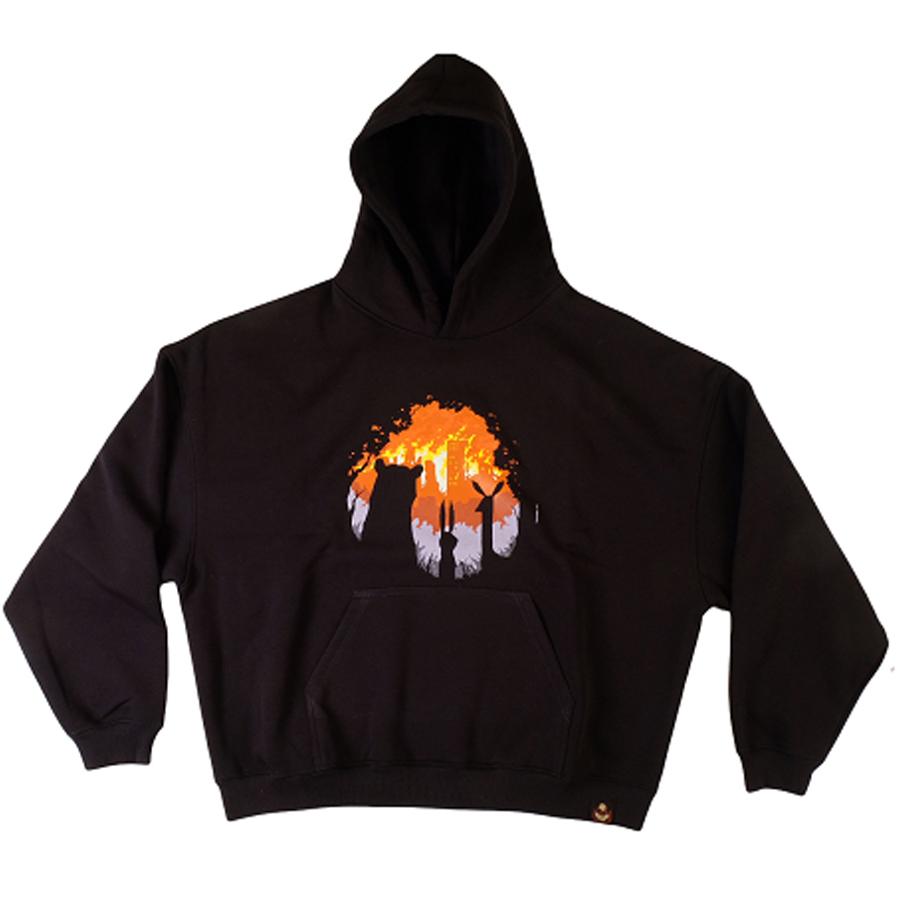 BURN BURN BURN / onesize худи