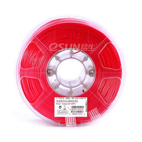 ESUN ABS+ 1.75 мм, 1 кг, пурпурнокрасный