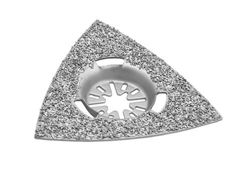 Насадка для МФИ ПРАКТИКА шлифовальная дельтавидная, HM, по плитке и дереву, 78 мм