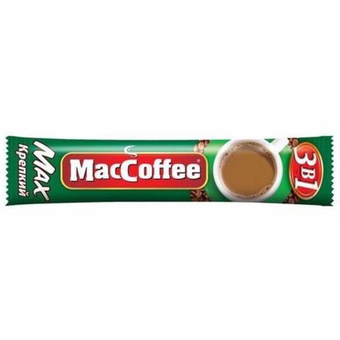 Кофе MacCofee 3 в 1 Max Крепкий 16 гр СИНГАПУР