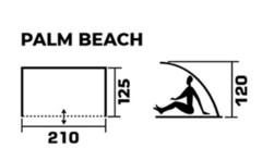 Тент-укрытие пляжный Jungle Camp Palm Beach - 2