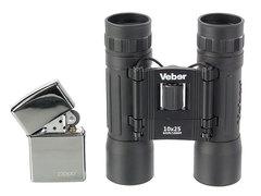 Бинокль Veber Sport БН 10x25 черный