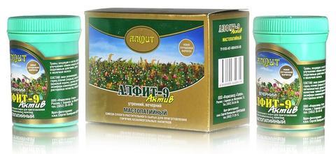 Чай Алфит-Актив № 9 мастопатийный, 60 бр. (Гален)