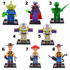 Minifigures Toy Story Blocks Building
