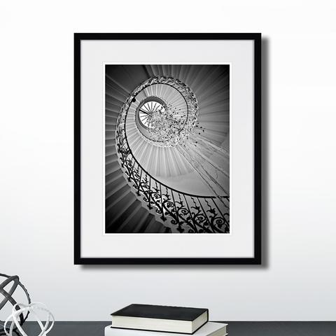 - Spiral staircase