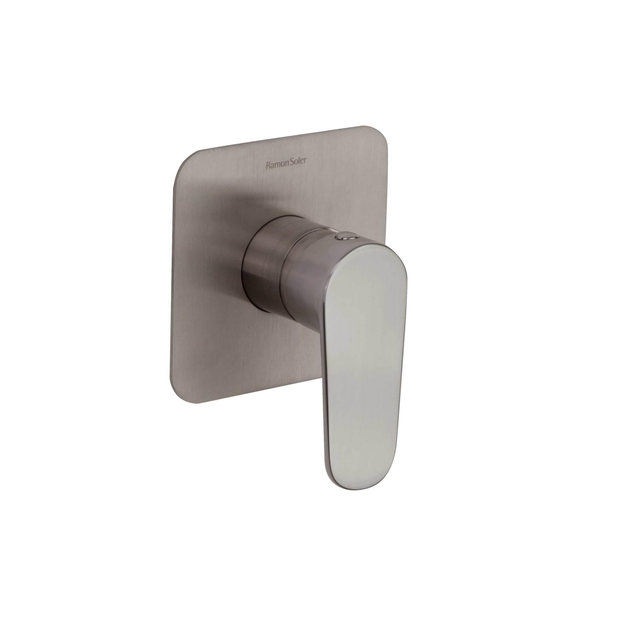 Встраиваемый смеситель для душа ALEXIA 361801SNC никель, на 1 выход