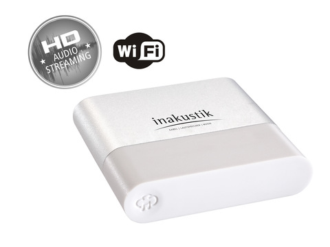 Inakustik Premium WiFi Audio Streaming Receiver, 00415007