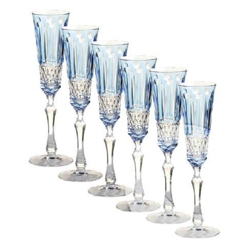 Набор из 6-х фужеров для шампанского Champagne 120 мл, артикул 16228. Серия ST.Louis