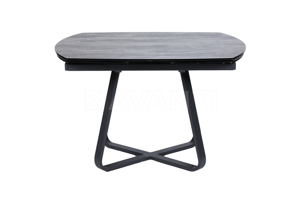 Стол обеденный SATURN (120) GRAY (серый)