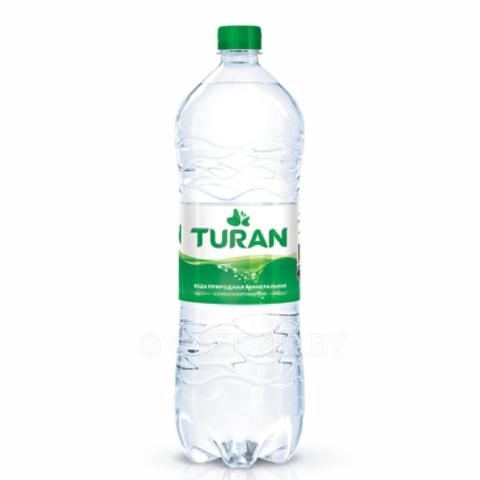 Вода минеральная TURAN слабогазированная 1,5 л пл/б КАЗАХСТАН