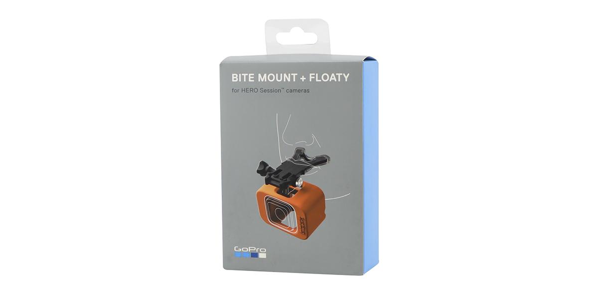 Крепление-капа с поплавком для GoPro HERO Session Bite Mount Floaty