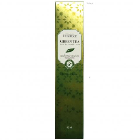 ВВ-крем Deoproce Greentea Total Solution Bb Cream Spf50+Pa+++