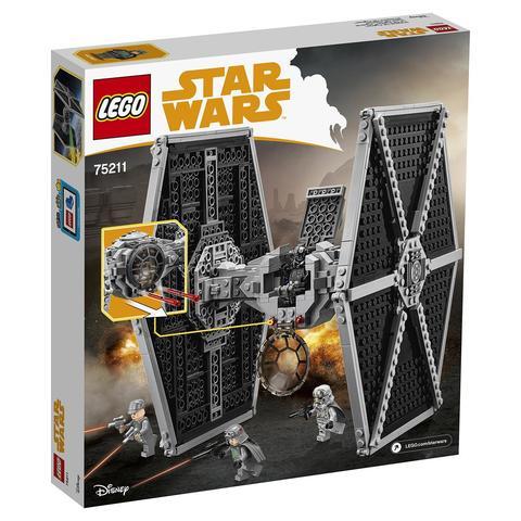 LEGO Star Wars: Имперский истребитель СИД 75211 — Imperial TIE Fighter — Лего Звездные войны Стар Ворз