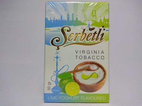 Табак для кальяна SERBETLI Lime Yoghurt 50gr