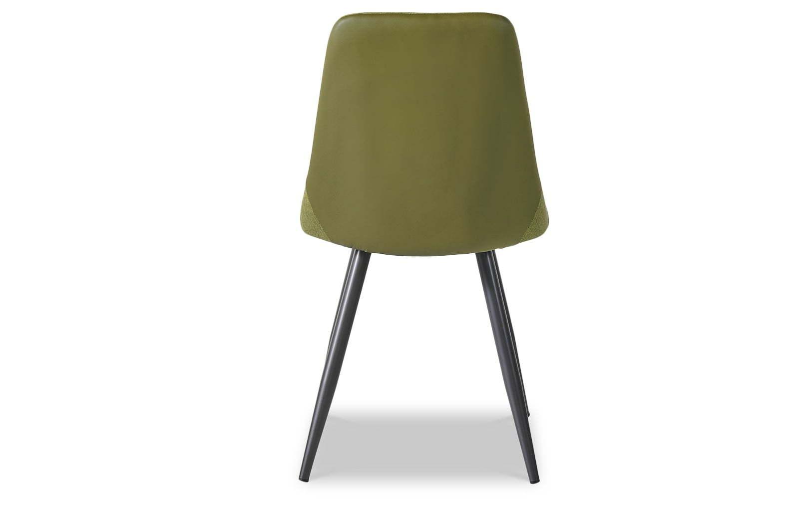 Стул ESF SKY8764 зеленый/серый