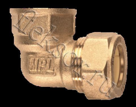 Угольник труба- внутренняя резьба (мама) EF 25*1