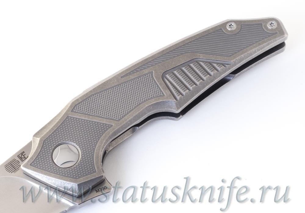 Нож Muscle PROTOTYPE CKF and Tashi Bharucha - фотография