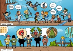 Микро комиксы