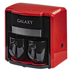 Кофеварка электрическая GALAXY GL0708 (красная)