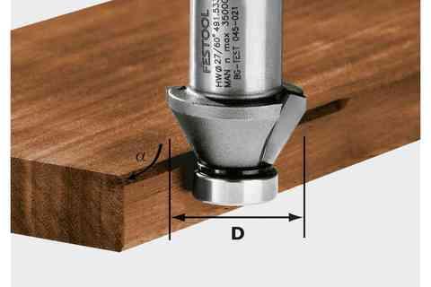 Фреза для снятия фаски HW 45°-OFK 500