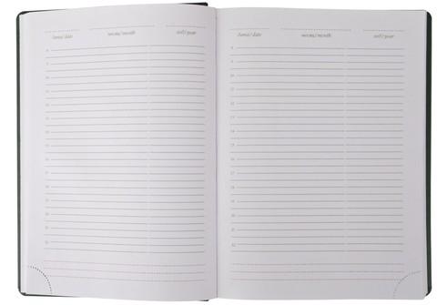 Мотивирующий гладкий ежедневник с надписью