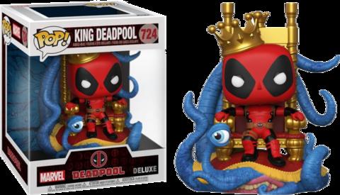 Фигурка Funko Pop! Deluxe: Marvel - King Deadpool 6