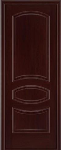 Дверь Луидор Ювелия, цвет махагон, глухая
