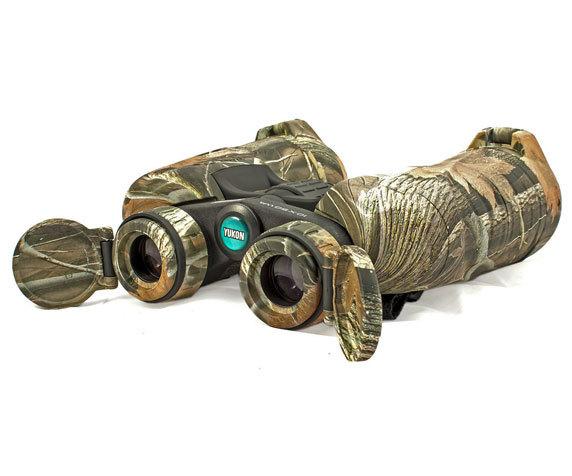 Откидные крышки Yukon 10x50 WA, камуфляж