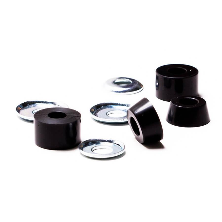 Амортизаторы (бушинги) для подвесок скейта FOOTWORK Black 100A