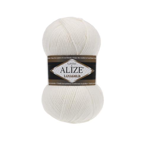 Пряжа Alize Lanagold 450 жемчужный