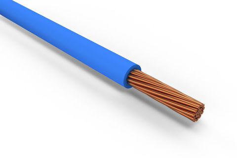 Провод ПуГВнг(А)-LS 1х0,5 ГОСТ (1000м), синий TDM