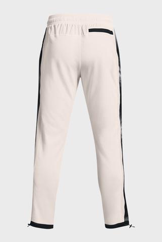 Мужские белые спортивные брюки UA RIVAL TERRY AMP PANT Under Armour