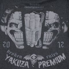 Худи черная Yakuza Premium 3122-2