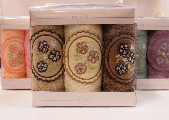 Кухонные полотенца Набор салфеток для кухни ELLA LILAC  ЕЛЛА ЛИЛА 30х50  Maison Dor (Турция) ELLA__3_.JPG