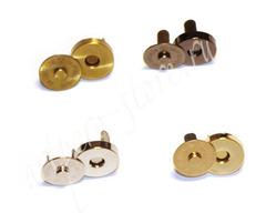 Кнопка магнитная,  d - 14 мм. h- 4 мм., (выберите цвет)