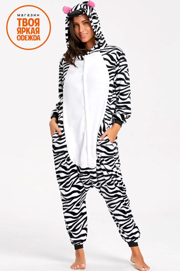 Пижамы кигуруми Зебра zebra114.jpg