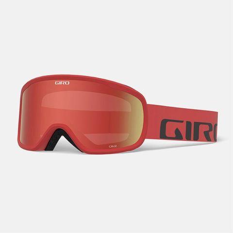 Маска GIRO CRUZ Red Wordmark/ Amber Scarlet 39