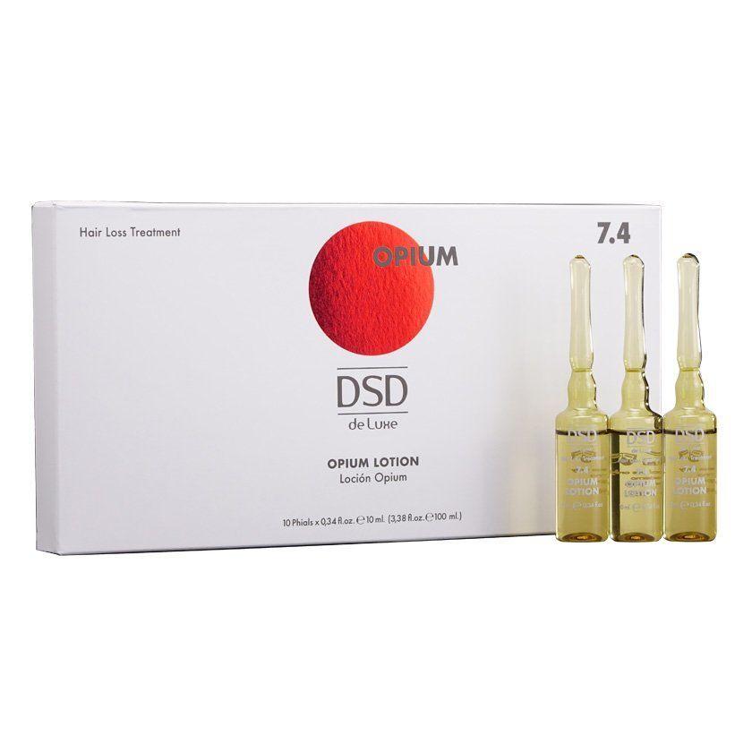 Лосьон от выпадения и для стимуляции роста волос DSD De Luxe 7.4 Opium lotion 10*10мл