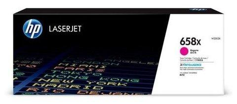 Оригинальный картридж HP W2003X 658X пурпурный