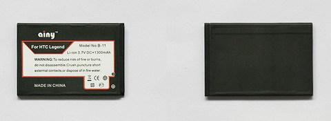 Аккумулятор Ainy для HTC A6363 Legend/Incredible S 1300mAh