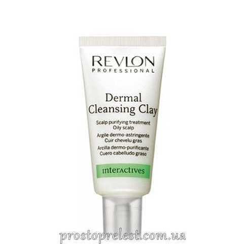 Revlon Professional Interactives Dermal Cleansing Clay - Очищающая глина для кожи головы