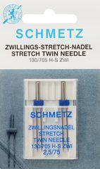 Фото: Игла Twin stretch 130/705 H-S ZWI DMS №2x2.5/75