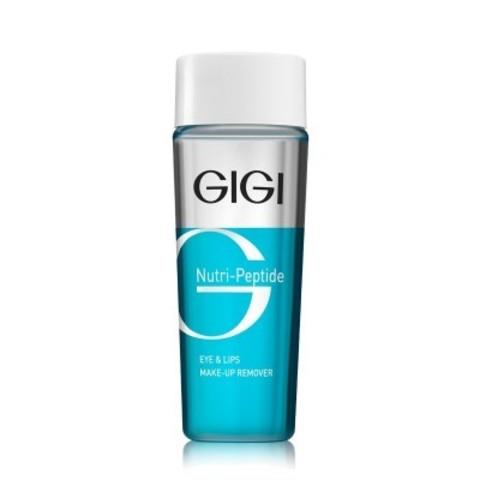 GIGI Nutri-Peptide: Жидкость для снятия макияжа с пептидами (Eye & Lips MakeUp Remover), 100мл